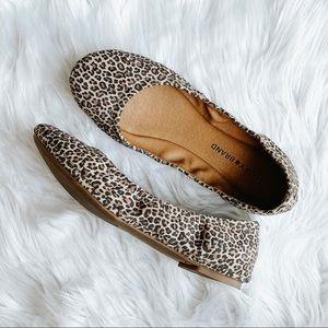 Lucky Brand Emmie Flats Leopard